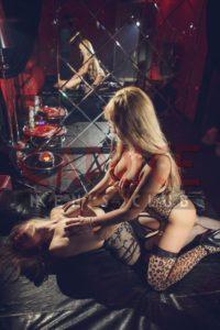 Мастера эротического массажа Алина и Валерия